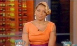 "Mary J. Blige On 'The View': ""I've Never Done Crack!"""
