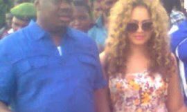 NADIA BUARI SPOTTED WITH LOVER Chief Joseph Tubodei Penawou