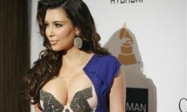 Kim Kardashian laughs off flour-bomb attack