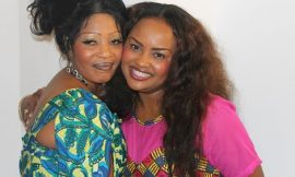 Nana Ama McBrown Spotted With Mum