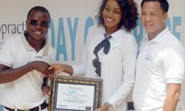 Chiropractic Centre Honours Yvonne Nelson, Luckie Lawson & Richie