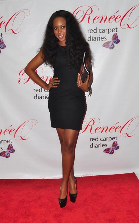 Yvonne Nelson In USA For Red Carpet Shows