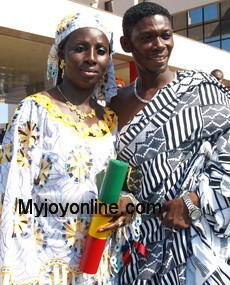 Drama as Agya Koo causes arrest of his own wife