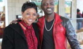 VIDEO: Akon's Mom Speaks On New Song With P-Square And More