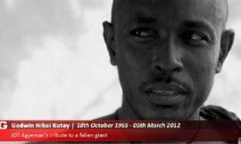 JOT Agyeman Pays Tribute To Godwin Kotey