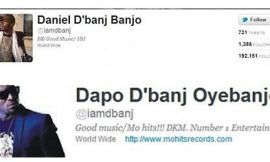 Nigerians take a swipe at D'banj for changing his name