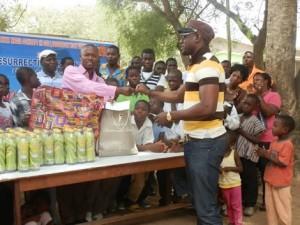 Eddie Watson Supports Good Shepherd Orphanage