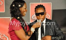 Ayigbe Edem and Confidence hook up at the Ghana Music Awards
