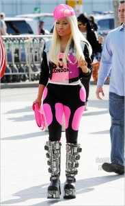 Celebs Photo: Nicki Minaj Spotted At Heathrow Airport