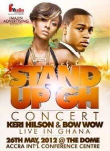 Guru, Kwaw Kese, Edem, Kaaki, Mzbel, Others To Share Stage With Keri Hilson And Bow Wow