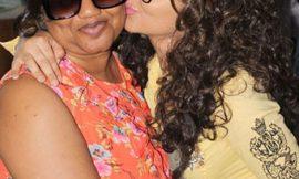 Nadia Buari & Mum