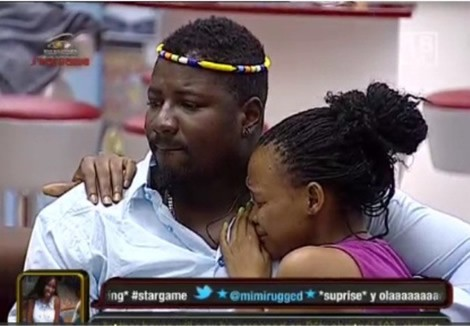 Big Brother STARGAME: Housemates Break Down In Tears As Ola And Chris Exit The Game+Video