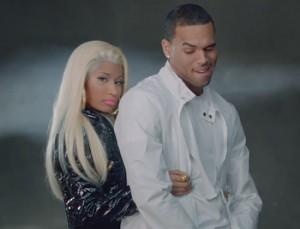 NEW MUSIC: Nicki Minaj ft Chris Brown – Starring Nas 'Right By My Side'