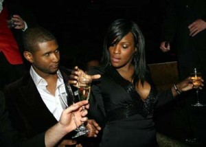 Tameka Begs Usher Not To Leave Her Homeless