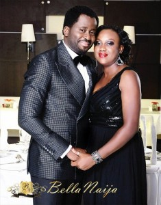 PHOTOS: Meet Nollywood Actor Desmond Elliot, His Wife And Kids