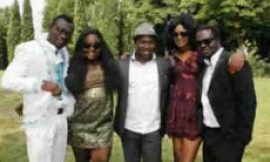 Roger Quartey Shoots New Movie In Italy