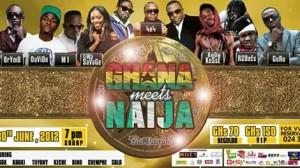 "Nigerian Artistes Threaten To Outshine Ghanaian Artistes At ""Ghana Meets Naija"" Concert"