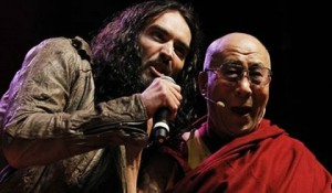 Russell Brand discusses the Dalai Lama