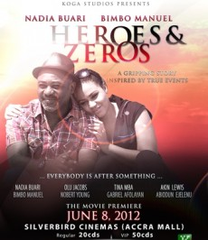 "Nadia Buari's New Movie ""Heroes And Zeroes"" Premiers On June 8"