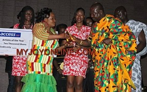 Selina Boateng wins Artiste of the Year at Ghana Gospel Industry Awards