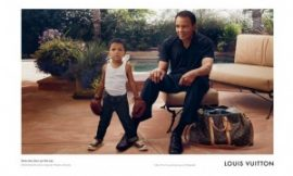 Too Adorable! Boxing Great Muhammad Ali, Grandson Appear In Louis Vuitton Ad