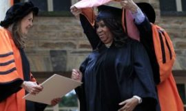 Woo Hoo! Aretha Franklin Receives Honorary Degree From Princeton University