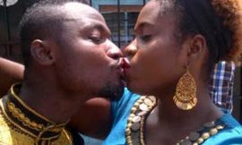 Funny Face Spotted Kissing Lydia Forson