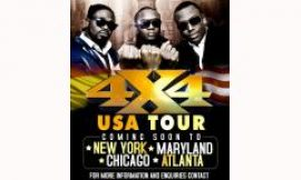 Hiplife Trio 4X4 To Tour USA