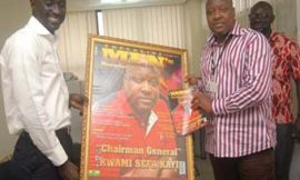 Kwami Sefa Kayi Takes Over Exclusive Men's Magazine