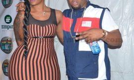 "PHOTOS: D-Black Brings Gargantuan Lady To ""Ghana Meets Naija"""