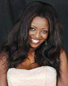 Yvonne Okoro On Business Trip To UK