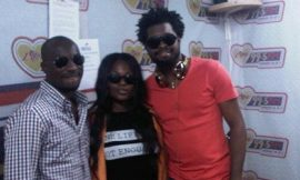 Basket Mouth rocks Kumasi with Efya and Kwabena Kwabena