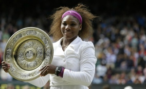 GO SISTA! Serena Williams Wins 5th Wimbledon!
