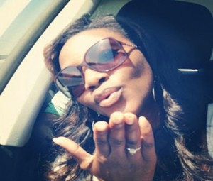 PHOTO: MS.Genevieve Nnaji Flaunts Her Engagement Ring