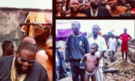 Rick Ross Shoots Music Video In Lagos