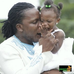PHOTO: Edem Spotted With His Cute Baby Girl