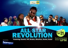 """Kumasi Readies For """"All Stars Revolution Concert"""""""