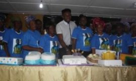 Ex-BBA Winner, Uti Nwachukwu, Friends Celebrate Birthday With 67 Widows