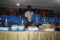 Ex-BBA Winner, Uti Nwachukwu, Friends Celebrate Birthday With 67 Widows