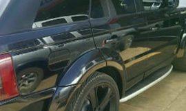 Adebayor Gives Customized Range Rover To Funny Face As A Birthday Gift