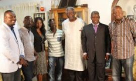 Ex-President Kufuor Receives His Ticket For Amakye Dede Concert