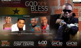 "Cwesi Oteng Holds ""God Dey Bless Ghana"" Concert On September, 30"