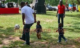 Children highly expectant of Joy FM Party in the Park