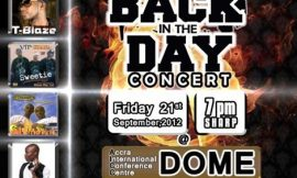 """Back In The Days"" Concert To Reunite All Hiplife Artistes"
