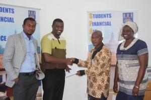 John Dumelo Foundation Gives Scholarship To University Of Ghana Students