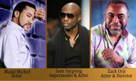Majid Michel, Zack Orji, And Sam Sarpong Arrive In Toronto For Planet Africa Awards