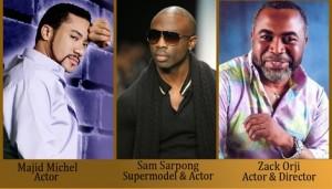 Majid Michel, Zack Orji, And Sam Sarpong Arrive In Toronto For Planet Africa Awards