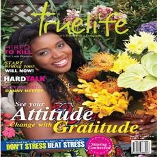 Truelife magazine outdoored in Accra