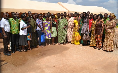 Ashaiman Chief, Beauty Queens, Other Join Peace Campaign