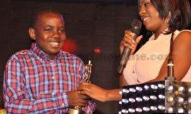 Nana Aba Anamoah Brings Son On Stage At RTP Awards…Dedicates Award To Him